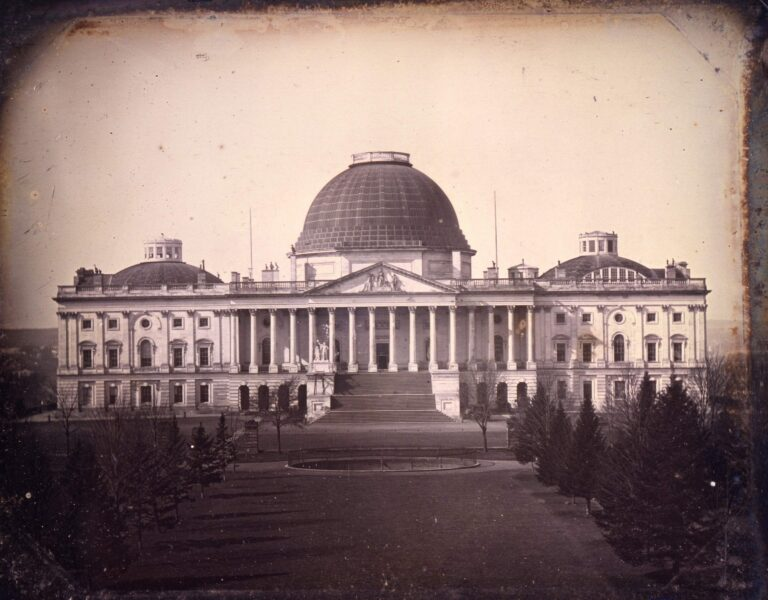 1846 photo of the Capitol Building