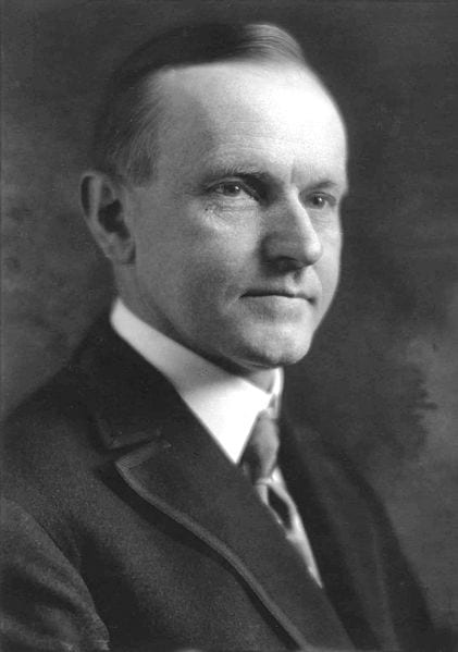 Calvin Coolidge (Wikipedia)