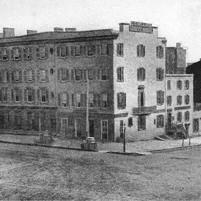 Ebbitt House in 1865 as photographed by Matthew Brady (Wikipedia)