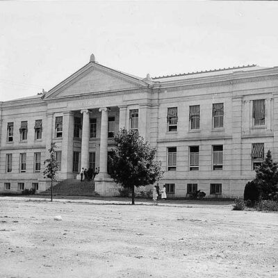 American University College of History building circa 1918 (Library of Congress)