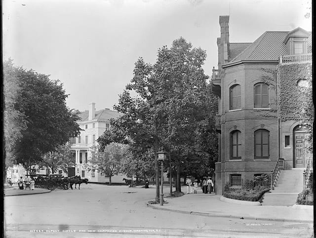 Old Photo: Dupont Circle in 1900