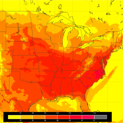 Friday, June 29th, 2012 heat index