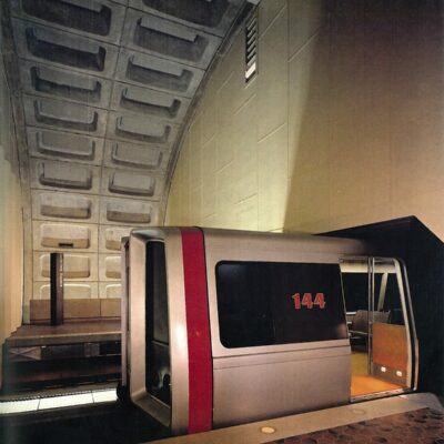 "Metro's 17-Foot Long ""Experimental Station"""