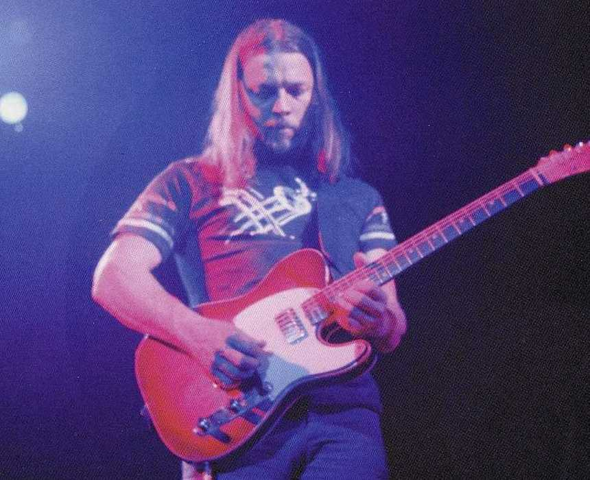 David Gilmour live in concert 1975