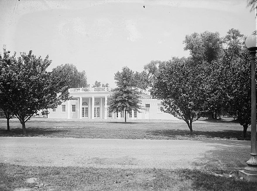 Hains Point Girl Scouts tea house - 1924 (Library of Congress)