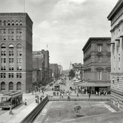 Old Photo Friday: F St. NW in 1908