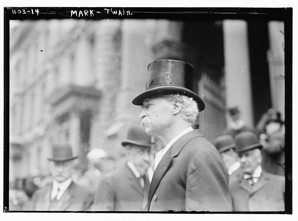 Samuel Clemens (aka Mark Twain) date unknown (Library of Congress)