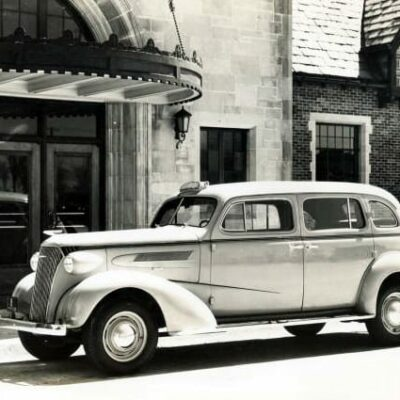 1937 Chevy taxi