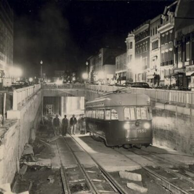 Dupont Circle Closed For One Year on Monday (1948)