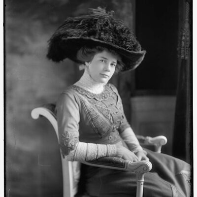Ethel Roosevelt in 1908 (Library of Congress)