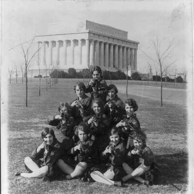 George Washington University Girls Rifle Team