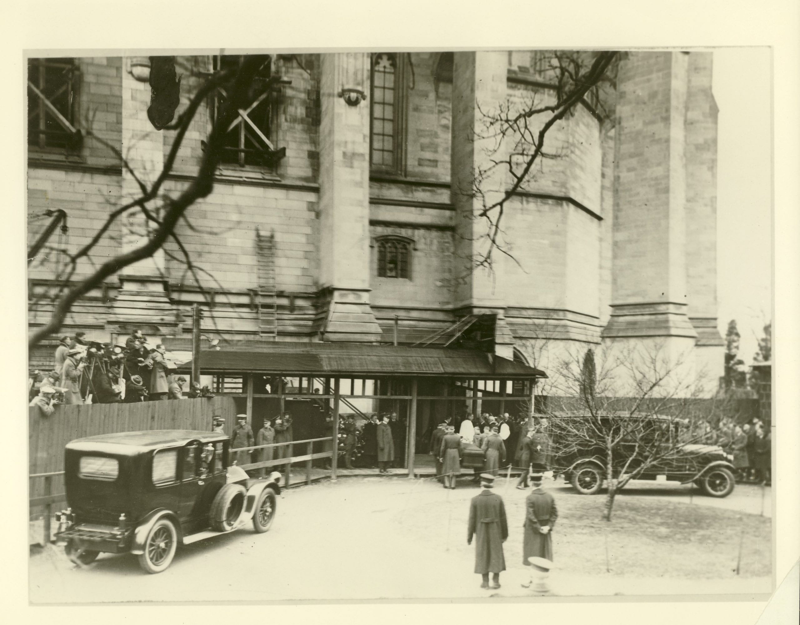 President Wilson's funeral at Washington National Cathedral