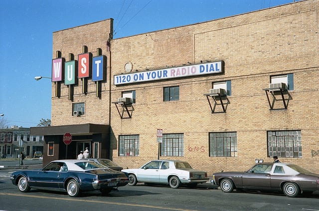 WUST Radio Music Hall in 1986 (source: Flickr user Michael Horsley)