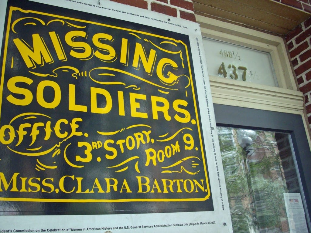 Clara Barton's Missing Soldiers Office