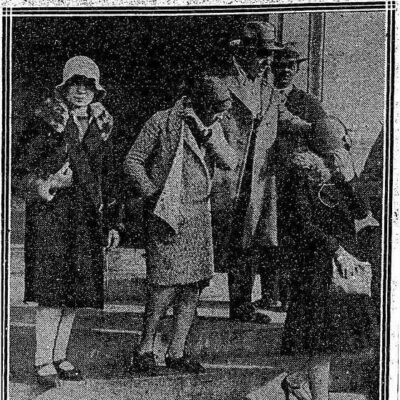 Parade of 'Reds' Here Ends in Arrest of 29 - November 11th, 1928 (Washington Post)