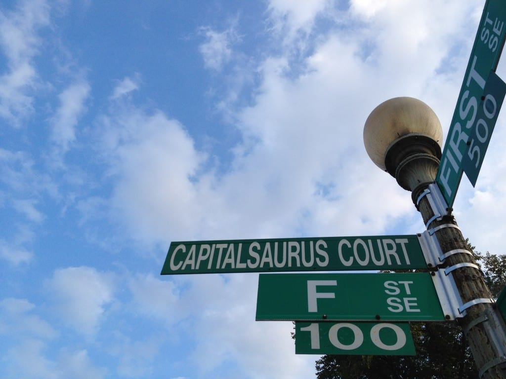 Capitalsaurus: Official Dinosaur of the District (Seriously)