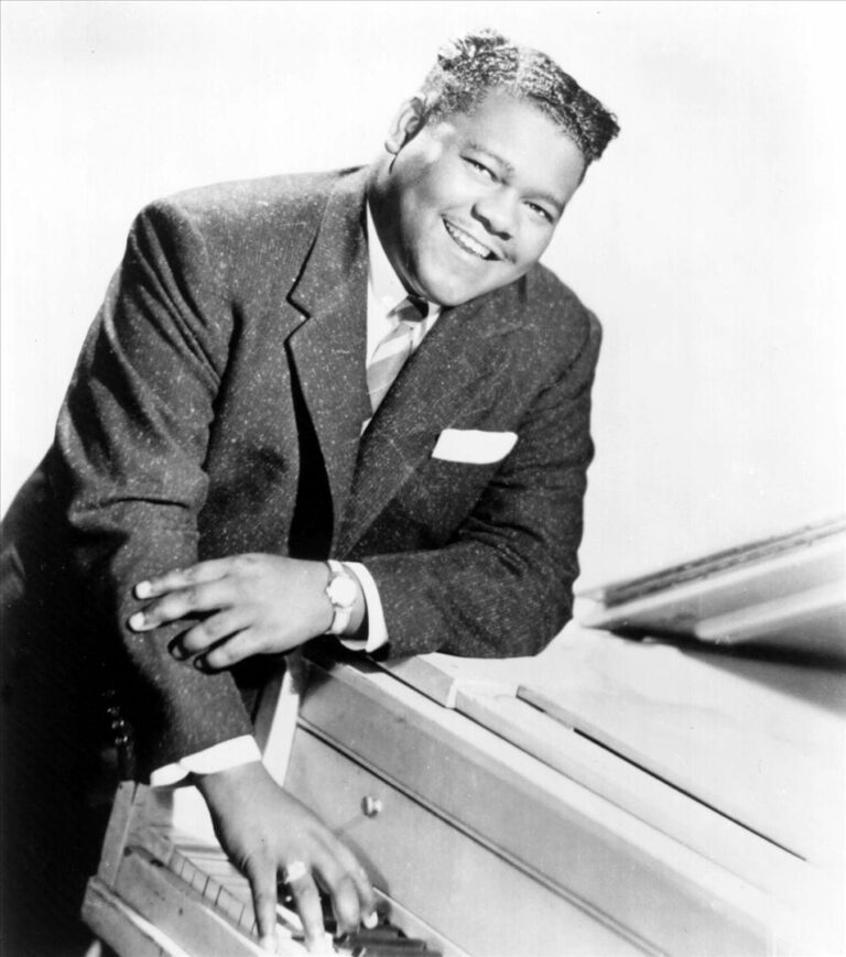 Fats Domino in the 1950s