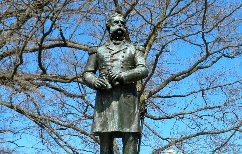 Where is the Original Dupont Circle Statue?