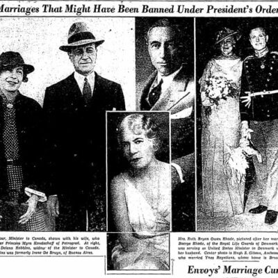 Franklin Roosevelt: No Marrying Foreign Aliens