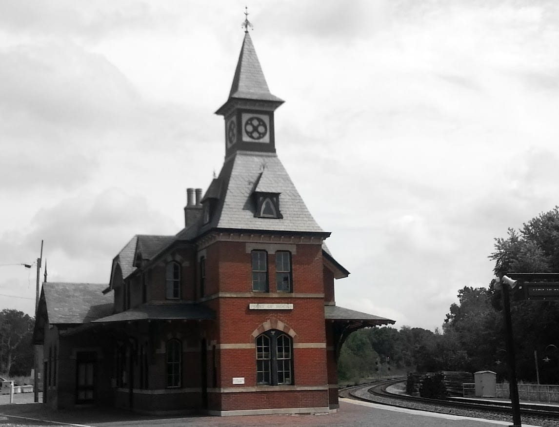 Baltimore and Ohio Railroad Station at Point of Rocks