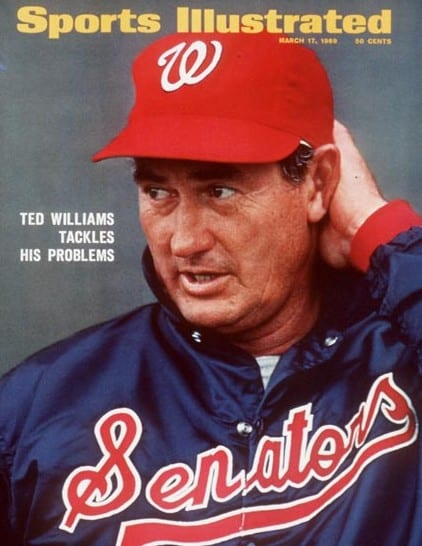 Ted Williams on the cover of Sports Illustrated