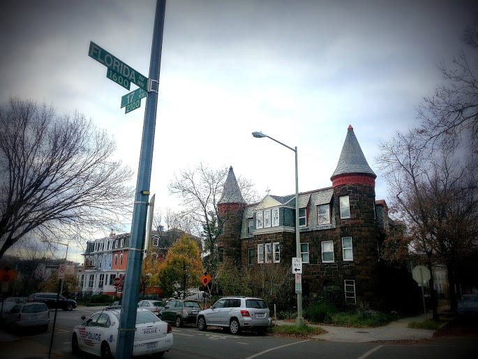 the homes at 2100 to 2104 17th St. NW