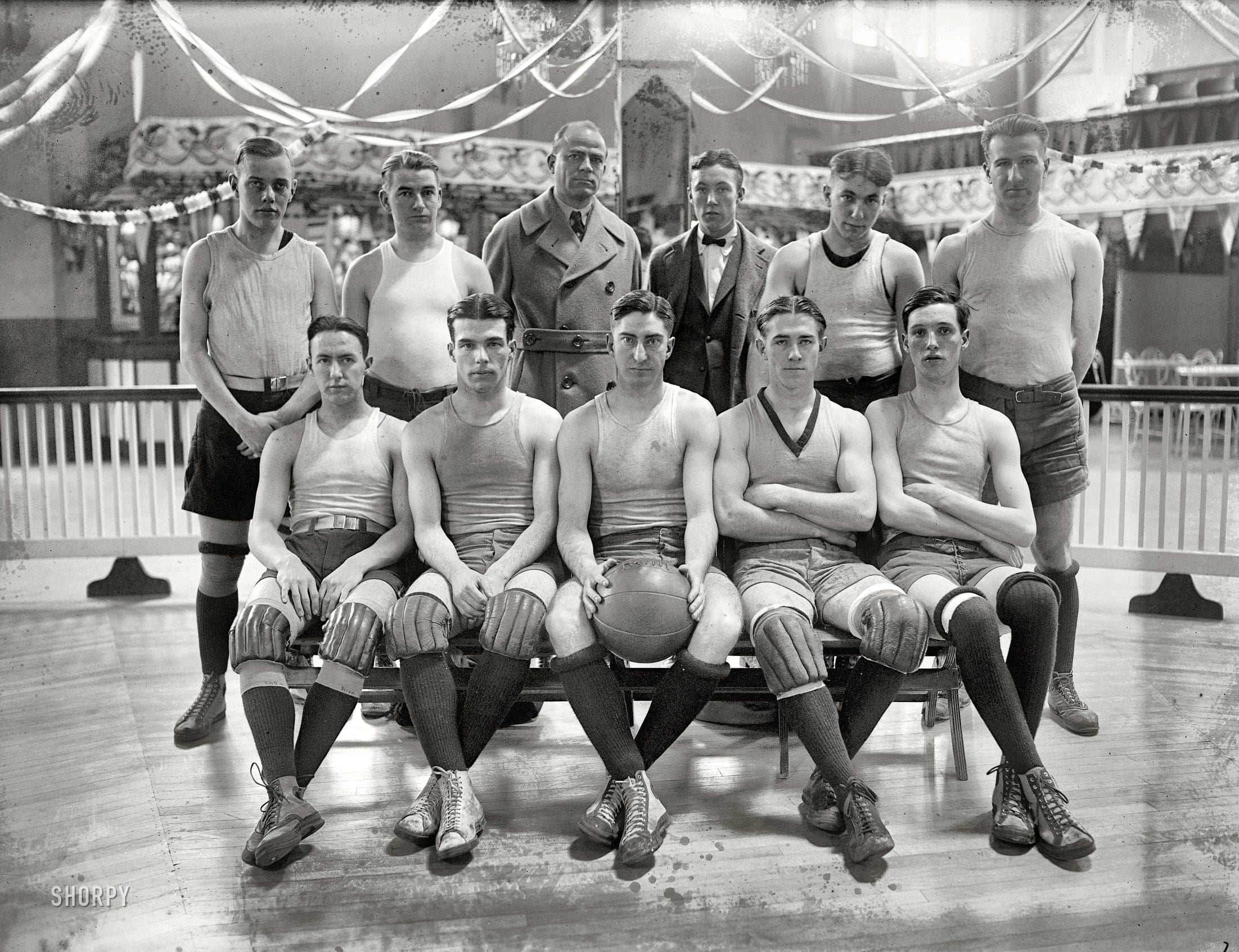 1923 Catholic University Basketball Team