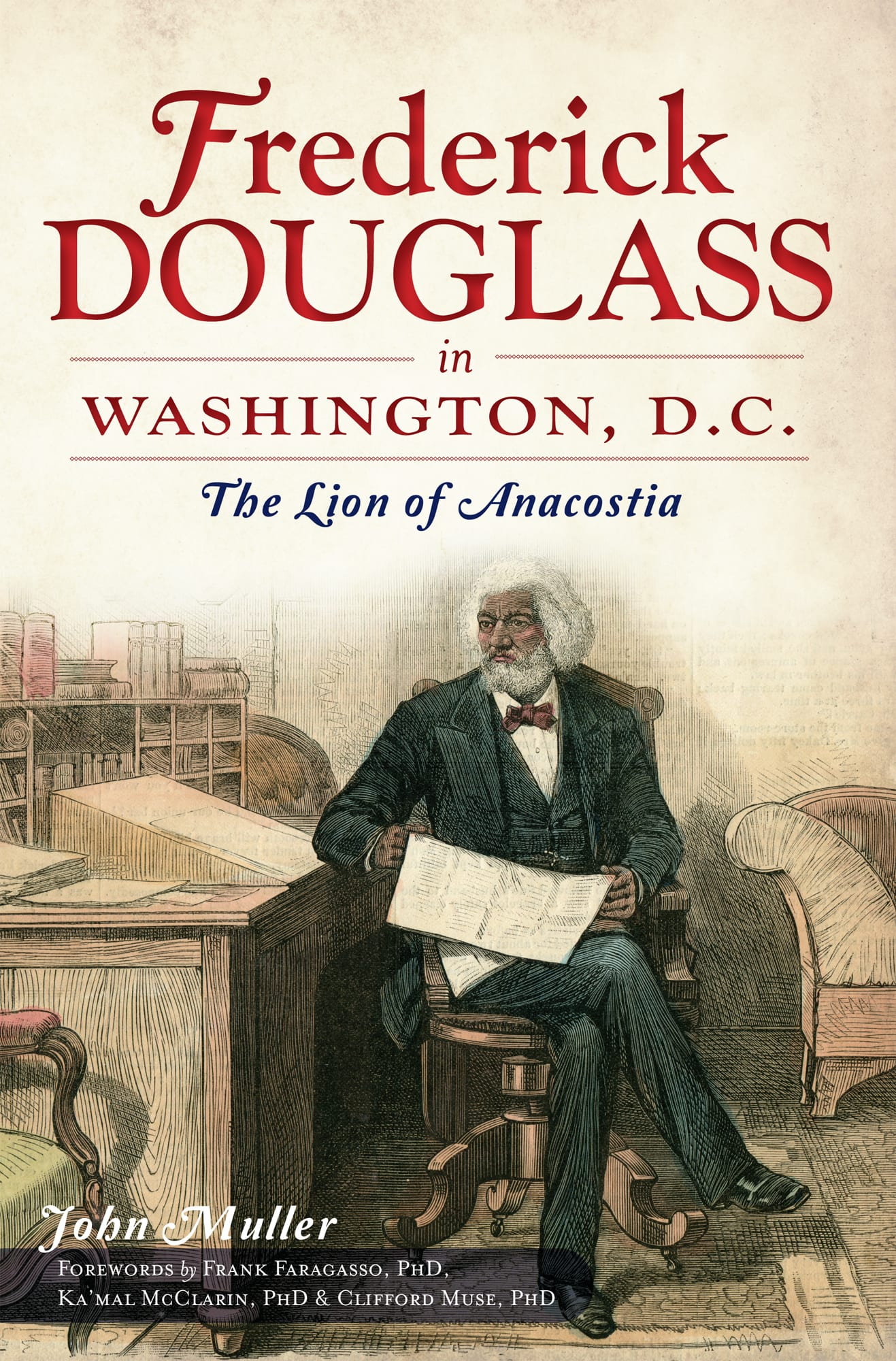 Frederick Douglass in Washington, D.C. by John Muller