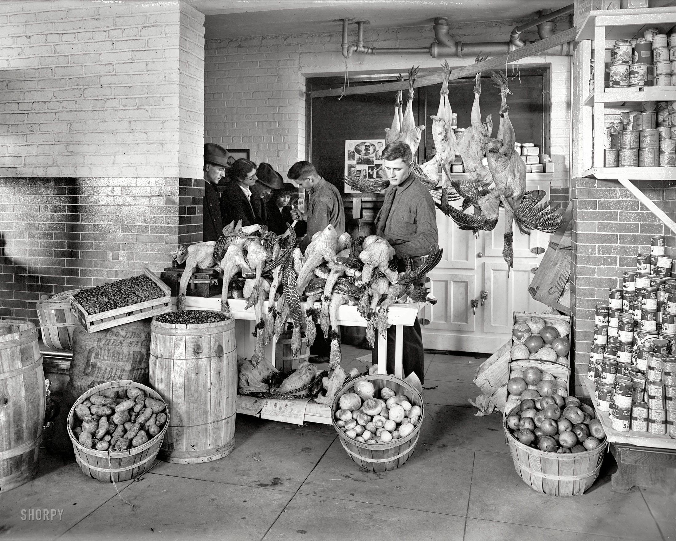 "Washington, D.C., circa 1924. ""Park View Citizens Association store."" National Photo Company Collection glass negative."