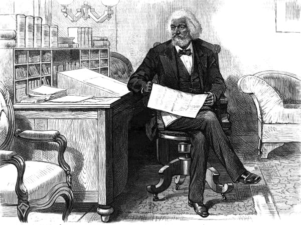 Frederick Douglass at the District marshal's office