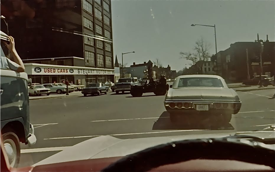view of New York Avenue after the 1968 riots