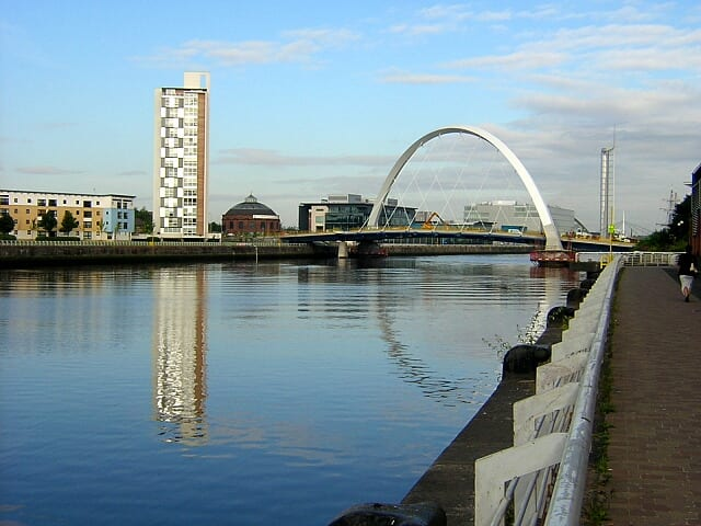 River Clyde in Glasgow (source: yourlocalweb.co.uk)