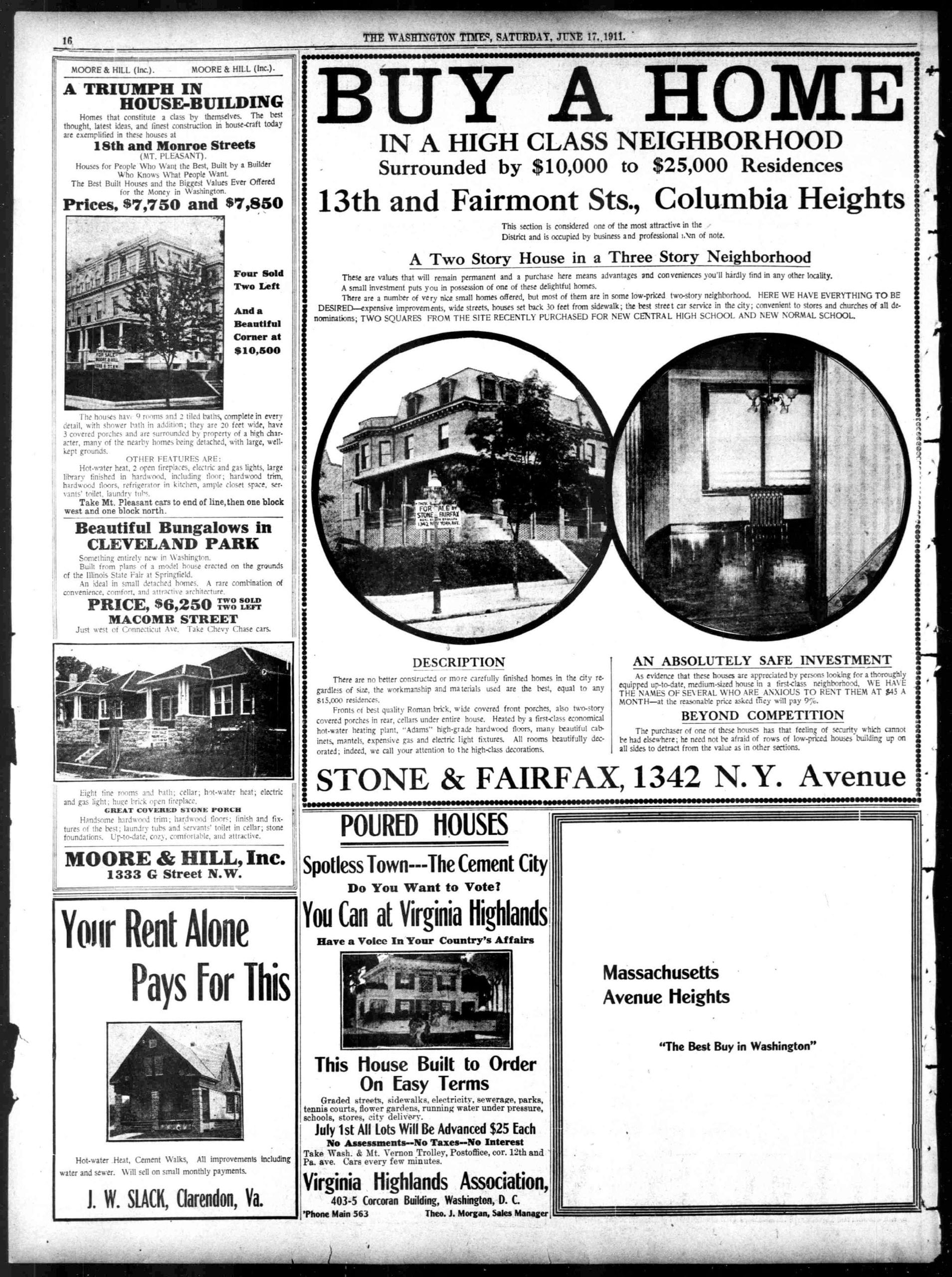 The Washington Times - Saturday, June 17th, 1911