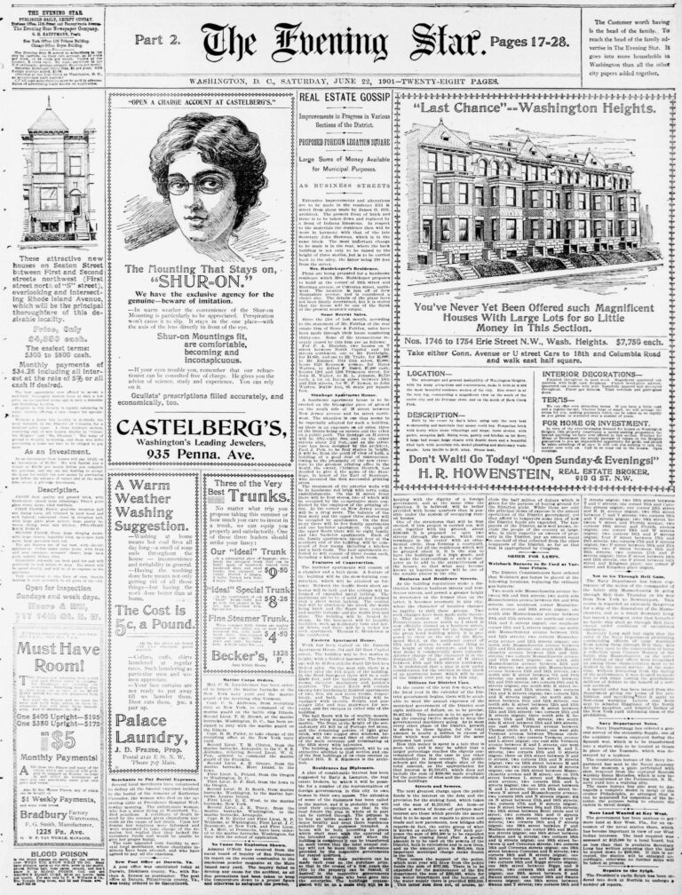 The Evening Star - June 22nd, 1901