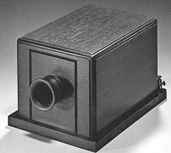 Bell's first commercial telephone (1877)