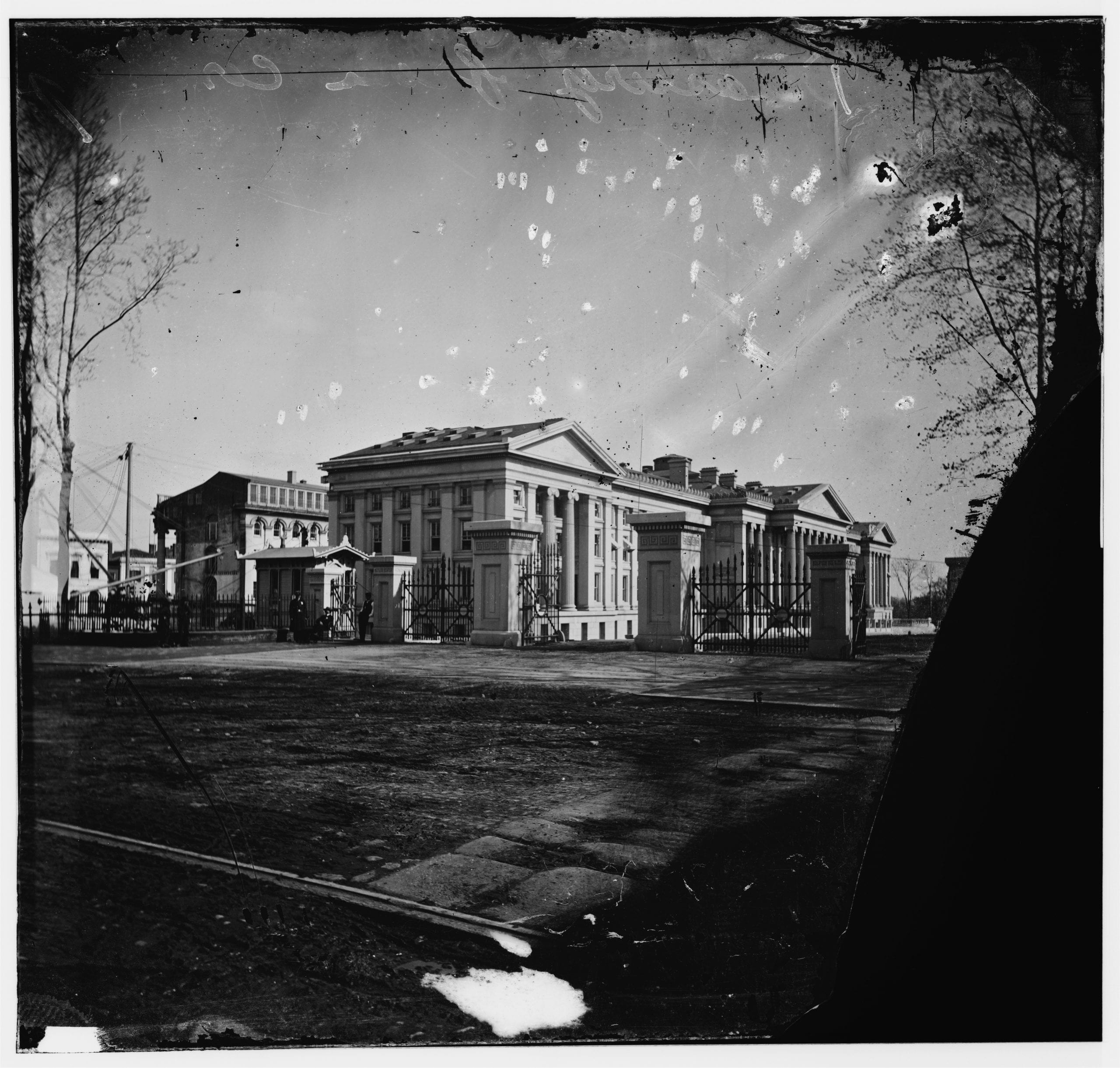 Amazingly Detailed Photo of Treasury Department in 1860