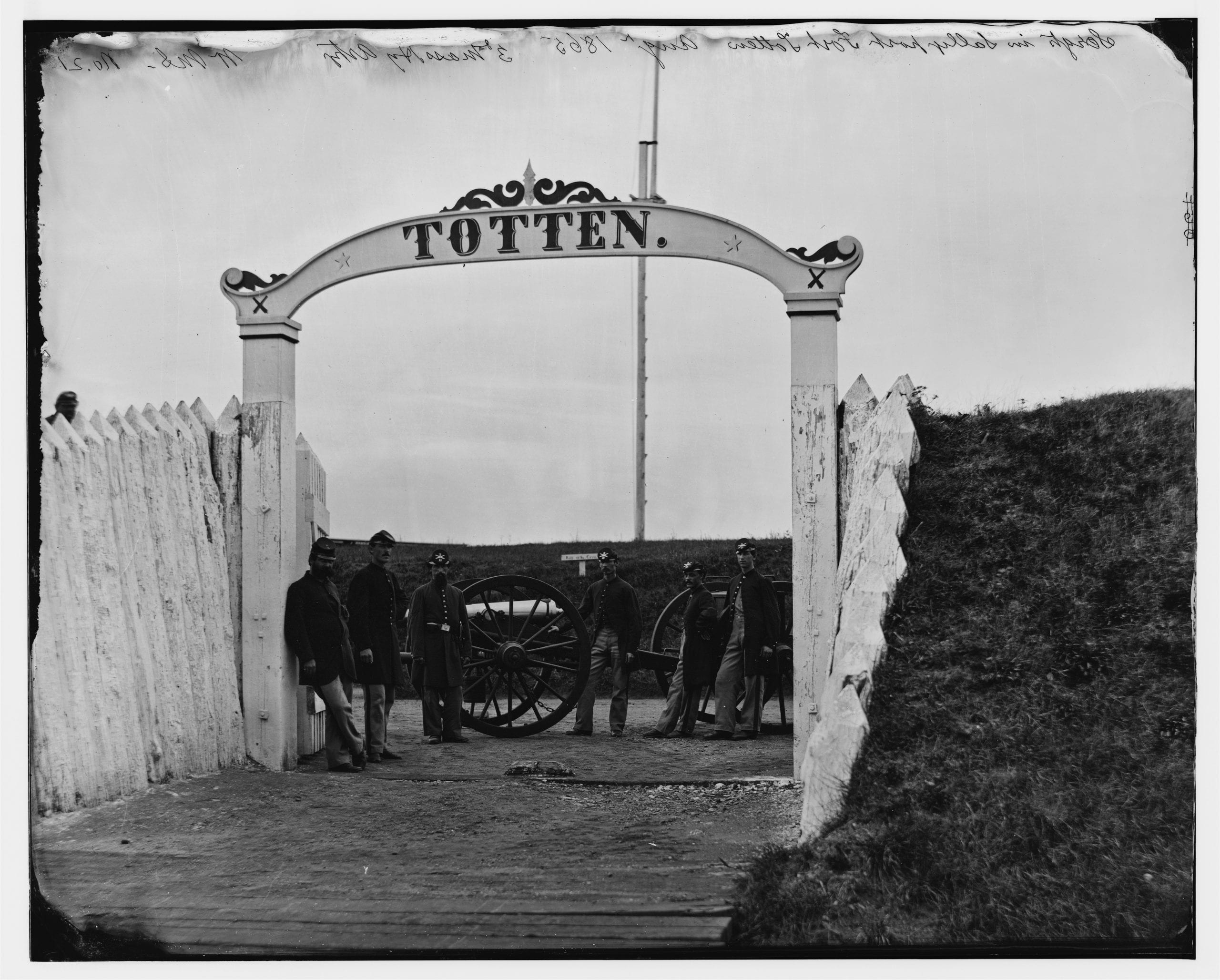 When Ft. Totten Really Was a Fort