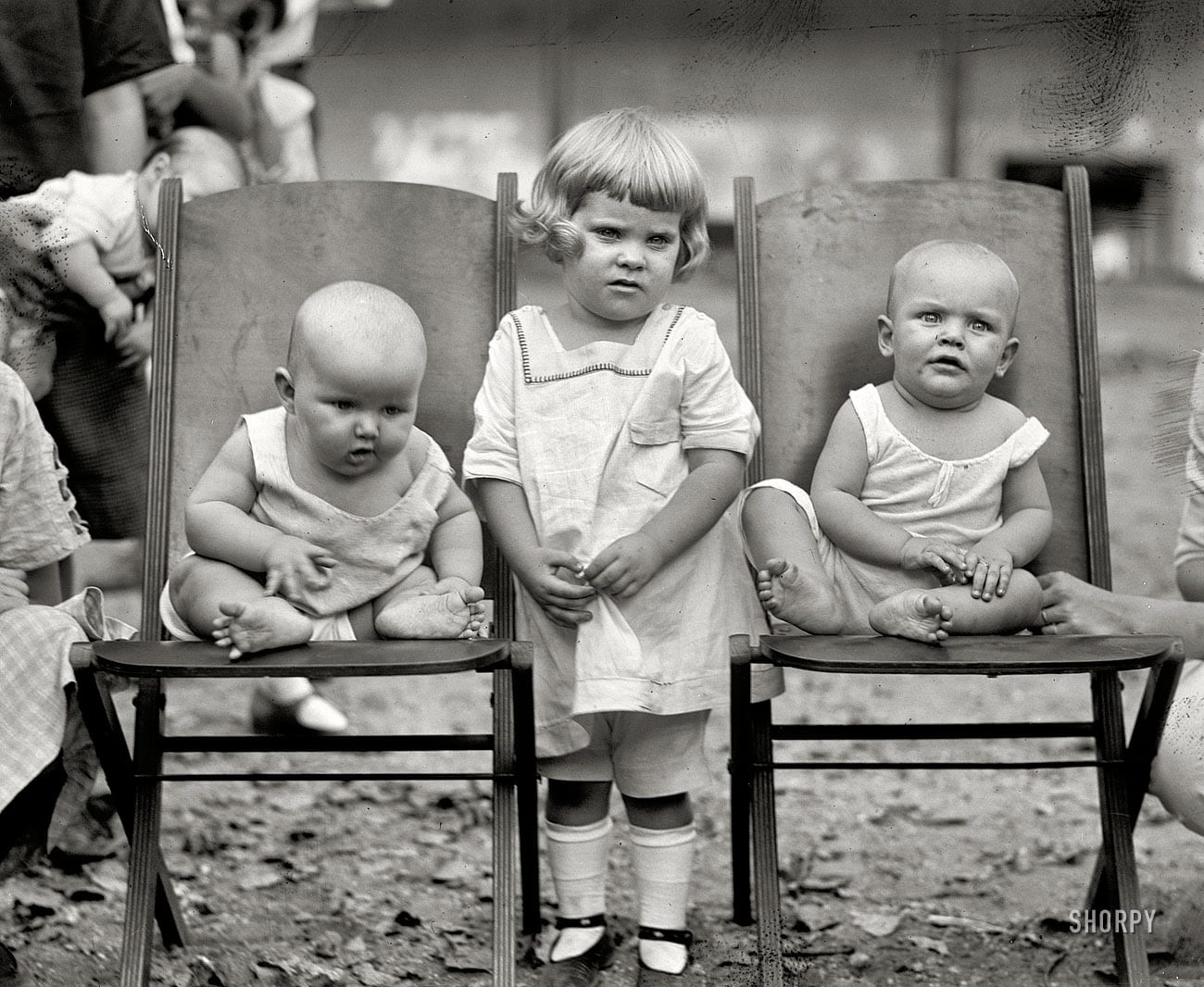 """September 7, 1922. Washington, D.C. """"Playground baby show."""" National Photo Company Collection glass negative."""