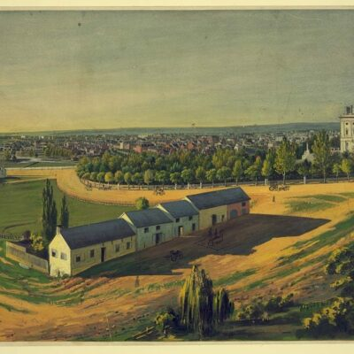 View of Washington in the 1840s