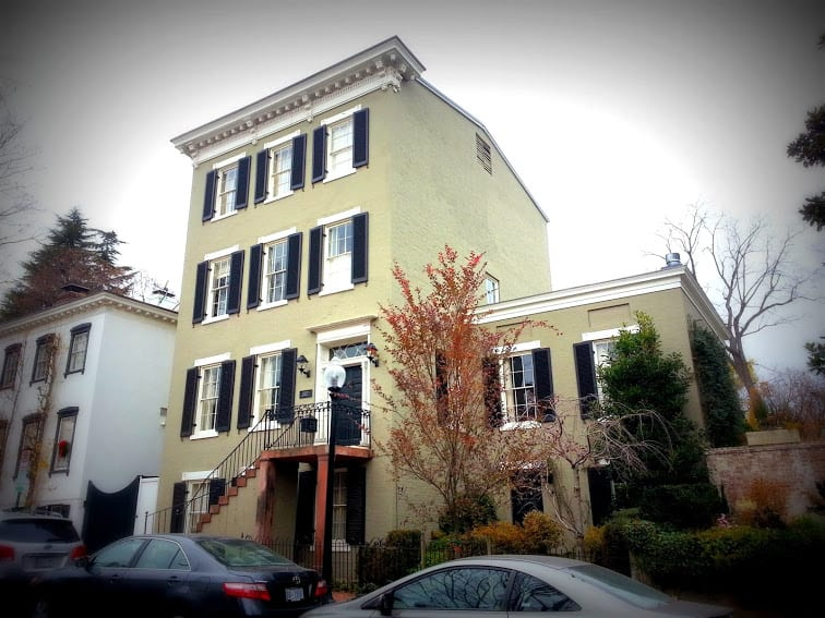 former residence of John Edwards at 3327 P St. NW