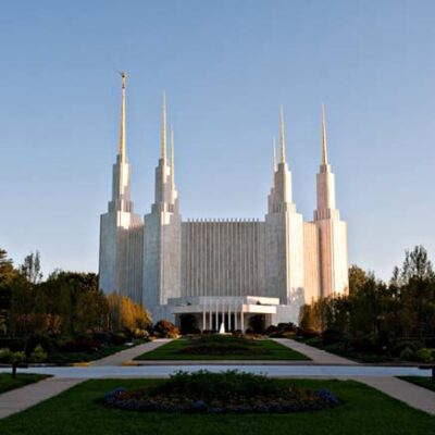 Mormon Temple Outside D.C.: Three Great Stories