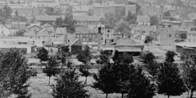 Panorama of Washington, D.C. in 1865