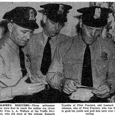 Officers Wallace, Trundle and Johnson (Washington Post)