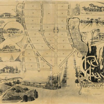 Chevy Chase Real Estate Plots in 1890