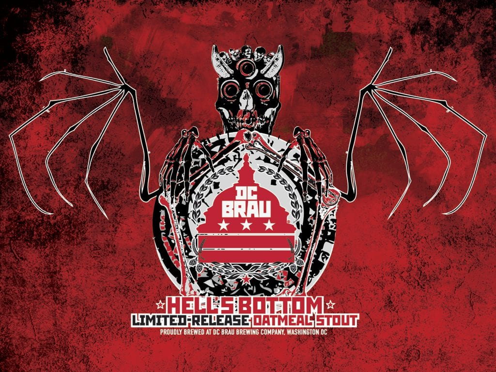 DC Brau Brewing Company - Hell's Bottom Oatmeal Stout