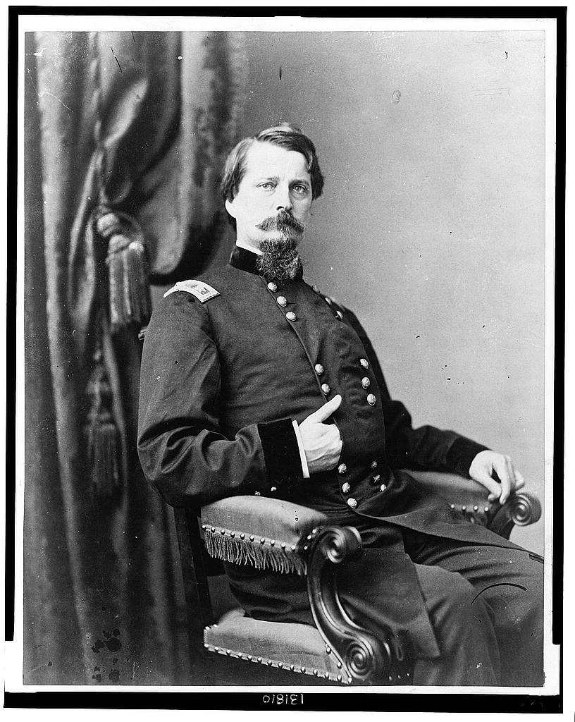 Major General Winfield Scott Hancock during the Civil War (Library of Congress)