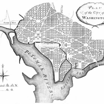 1791 L'Enfant Plan of the new city