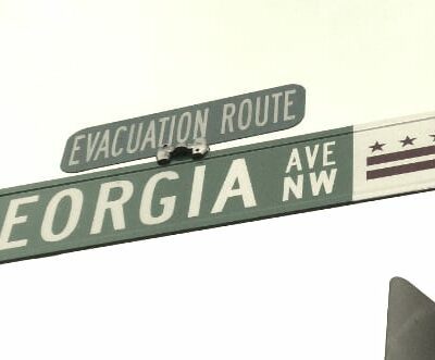 Georgia Ave. street sign