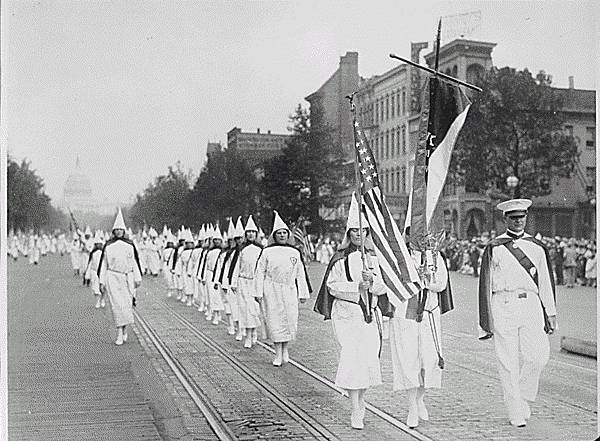 Dark Days of the Ku Klux Klan Parading Down Pennsylvania Avenue