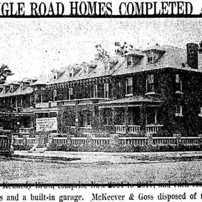 homes on Klingle Road - June 16th, 1922 (Washington Post)